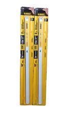 "2-Pk Stanley Consumer Tools 12""  Bi-Metal Saw Blades, DWHT20552, 24TPI, (T4)"