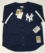 Bernie Williams Mitchell & Ness New York YANKEES Batting Practice Jersey Size XL