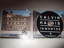 Calvin Harris - 18 Months (CD) 15 Tracks - Mint/New - Fast Postage