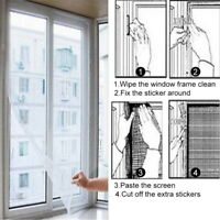 2/4X Mosquito Insect Net Mesh Guard For Doors Windows Fly screen Curtain Netting