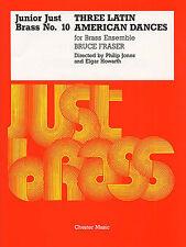 Junior Just Brass 10 Fraser Latin American Dances Sheet Music Book