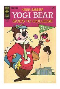 Gold Key Comics 80 pages,Yogi Bear no.10 oct62