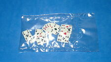 Playmobil Western Oeste Juego Cartas Poker, en bolsa sin abrir, Baraja, Carta