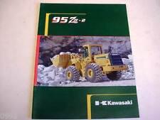 Kawasaki 95 Ziv-2 Wheel Loader Literature