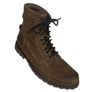 TIMBERLAND Earthkeepers Men Original 6-Inch Boot Sz 10  Brown Leather ~ 15551