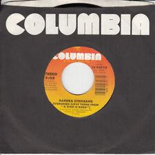Barbra Streisand Evergreen b/w Memory 45-rpm Record