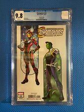 Champions #22 • 2nd Print • 1st Riri Williams New Ironheart Armor • CGC 9.8
