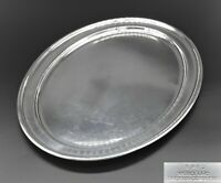 """STUNNING HEAVY OVAL ELKINGTON & Co MEAT PLATTER SERVING TRAY 18"""" SILVER PLATED"""