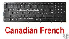 Dell Latitude 3550 3560 3570 3580 3588 Keyboard - CF Canadian French