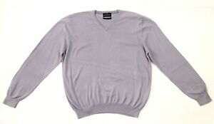 Marks and Spencer Collection Men's Jumper Cotton Cashmere Size L