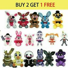 Five Nights at Freddy's FNAF Horror Game Kid Plushie Toy Plush Dolls Gift Top uk