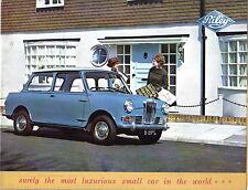 Riley elf mk ii original uk sales brochure pub. nº 6308 circa 1963/64 (mini)