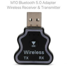 USB Bluetooth 5.0 Receiver Transmitter Wireless 3.5mm AUX Car Stereo Adapter
