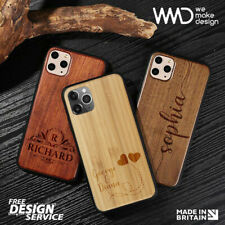 Personalised Wooden iPhone Case ( Laser Engraved ) Best Gift