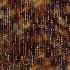 Hoffman Batik Bali Chop Dotty Stripe K2488-432 Dijon Cotton Batik Fabric BTY