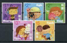 Hong Kong 2017 MNH Children's Stamps Five Senses Hearing Taste Smell 5v Set
