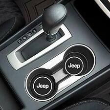 COASTER 2PC 2.75'' SILICONE CAR CUP HOLDER AUTO INSERT FOR JEEP - US SELLER