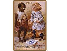 1875 Fairy Soap Ad Black Americana  NEW Reproduction  Refrigerator Magnet