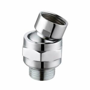 Adjustable Shower Connector Ball Joint Shower Head Swivel Ball Adapter Brass