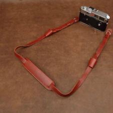 Cam in Adjustable Handmade Genuine Leather Camera Shoulder Neck Strap, 2727