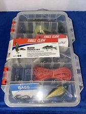 New listing Eagle Claw Bass Fishing Tackle Kit