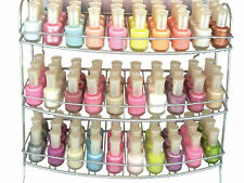 Nail Polish Display Rack Organiser Strong and Durable 3 Tiers