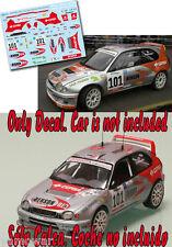 Decal 1:43 Juha Kankkunen - TOYOTA COROLLA WRC  Rally El Corte Ingles 2004