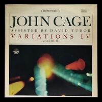 John Cage / David Tudor - Variations IV Vol. II - 1st (NM, M-) 1965 Everest 3230