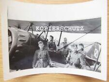 Altes Detail Foto Polen / polnisches Flugzeug 2. WK