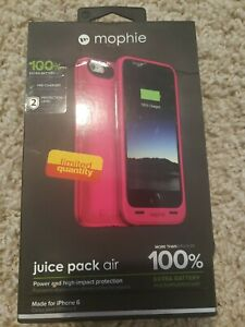 Mophie Juice Pack Air - Slim Protective Mobile Battery Pack Case iphone 6 100%