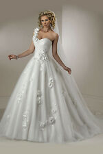 Maggie Sottero Wedding Dress Lizette Royale Size 6 Ivory NWT