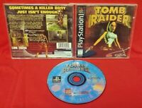 Tomb Raider 1 Lara Croft Playstation 1 2 PS1 PS2 Game Black Label Complete Works