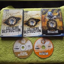 ROBOT WARS ARENAS OF DESTRUCTION & EXTREME PC ( games based on the hit tv show )
