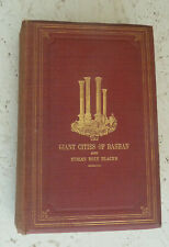 Vintage Book 1869 The Giant Cities of Bashan Syria's Holy Places Illustrated