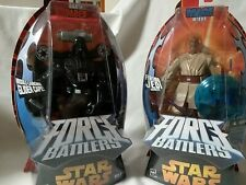 STAR WARS FORCE BATTLERS Vader and Mace NEW