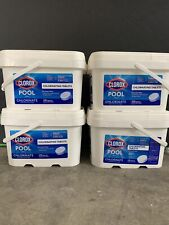 Clorox 3 Inch Chlorinating Tablets For Swimming Pools - 5lb Sealed✅ SHIPS NOW
