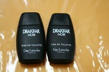 2-Drakkar Noir by Guy Laroche Eau de Toilette Splash Men .17 oz  Authentic