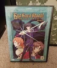 Kyo Kara Maoh - God () Save Our King - Season 2: Volume 4 DVD w/gift rare oop