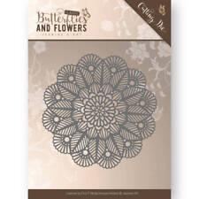Jeanine's Art Cutting Dies - Butterflies & Flowers - Doily - 100122 - New