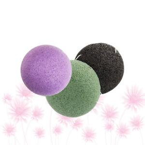 6Pcs Konjac Sponges Facial Sponges Face Washing Puff for Home Salon Women