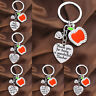Apple Teacher Keyring Thank You Gift Present Key Rings Charm Keychain Jewellery