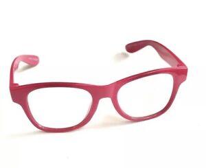 Build A Bear Workshop Glasses Pink Frame Eyeglasses BABW 1053750
