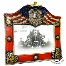 US Marine Corp Winged 7 X 5 Picture Frame Military Decor