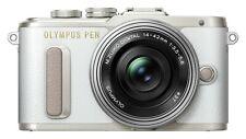 Olympus Pen E-PL8 16.1MP Digital Camera - White with 14-42mm EZ Lens