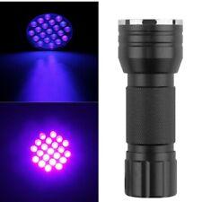 UV Schwarzlicht Ttaschenlampe LED 395 nm Utra Violet für Scorpion Jagd - Schwarz