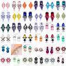 1 Pair Fashion Elegant Crystal Rhinestone Earrings Ear Stud Drop Dangle Jewelry