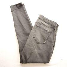 New NYDJ Womens Ami Skinny Sculpting Stretch Leggings Gray Black Jeans 12 X 30