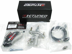 K-Tuned CMC Clutch Master Cylinder + Slave Kit LHD DC5/EP3/FG2/FA5/FB6/FG4/CL9