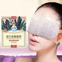 Selbsterhitzung Dampf Hot Eye Warmer Maske Erwärmung Lavendel Müde-Augenthe U6E0