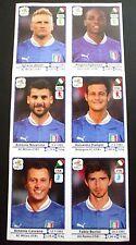 SET 6 FIGURINE EXTRA STICKERS UPDATES ITALIA ITALY PANINI EURO 2012